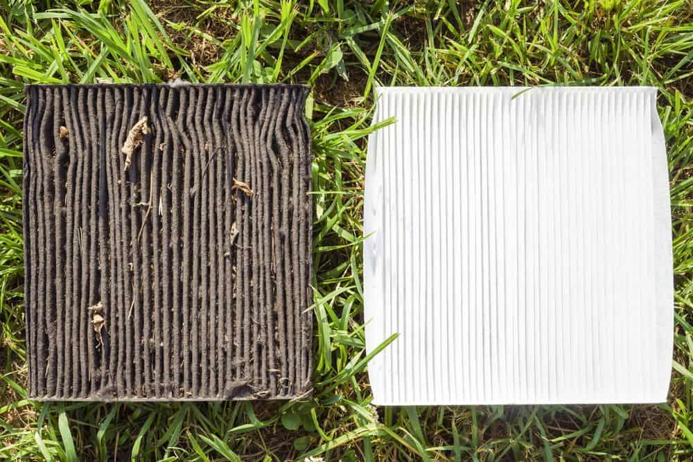 dirty vs clean air filters